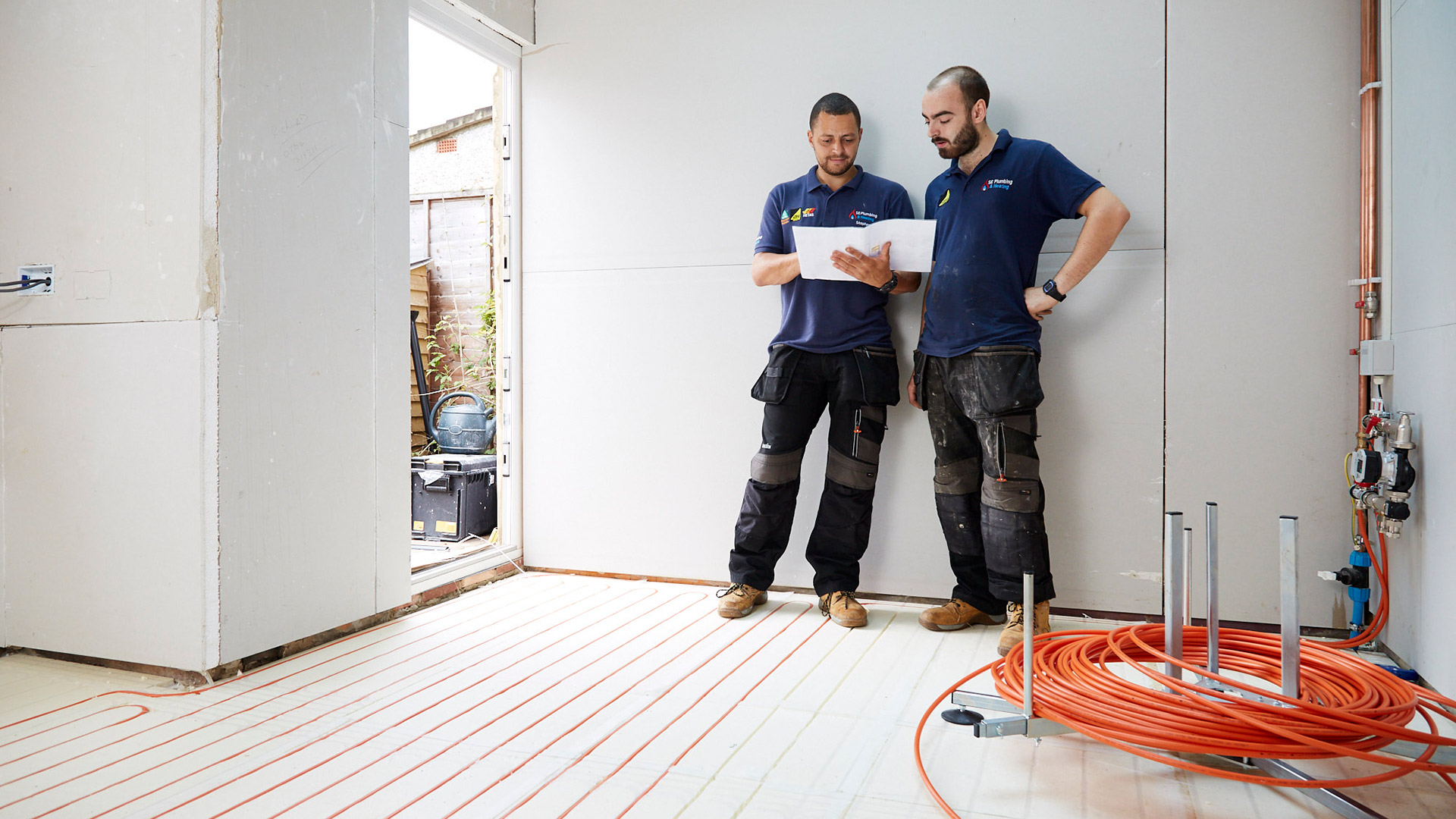 Underfloor Heating in Kitchen